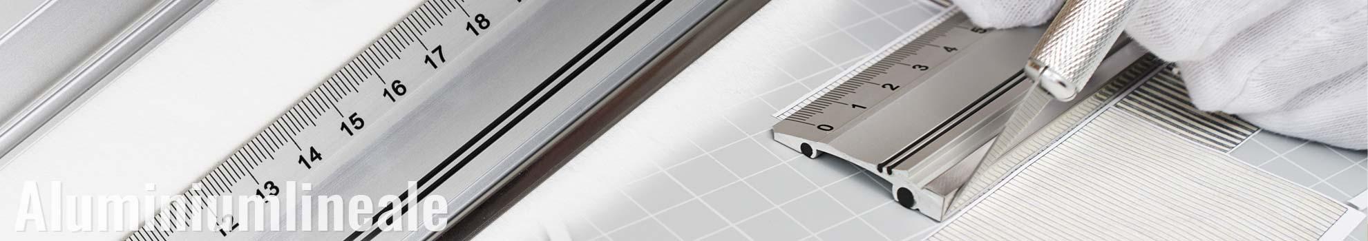 Aluminiumlineale 150cm