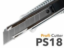 Messer - Cutter PS18 aus Metall + 18mm Klinge