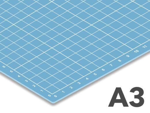 Schneidematte transparent A3