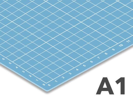 Schneidematte transparent A1