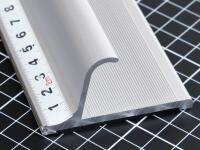 Aluminiumlineal mit Griff