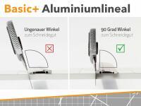 Aluminiumlineal Stahlkante