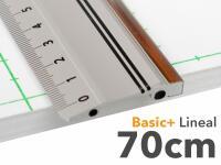 Aluminiumlineal 70cm