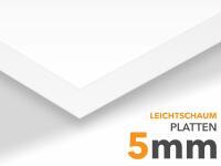 5mm Leichtschaumplatte XL