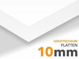 XL Leichtschaumplatte weiß
